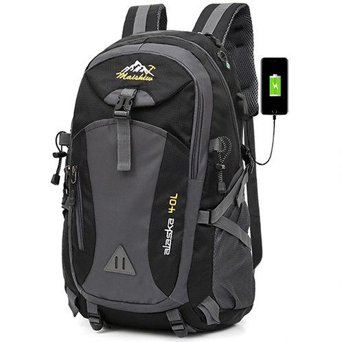 40L Unisex Waterproof Men Backpack Travel Pack Sports Bag Pack Outdoor