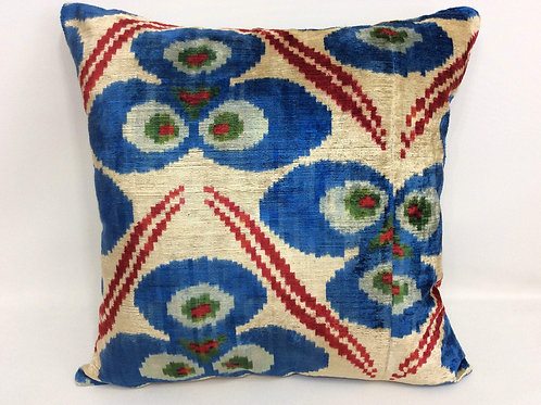 Double Side Ikat Pillow Case -  20'' x 20'' Decorative Pillows For