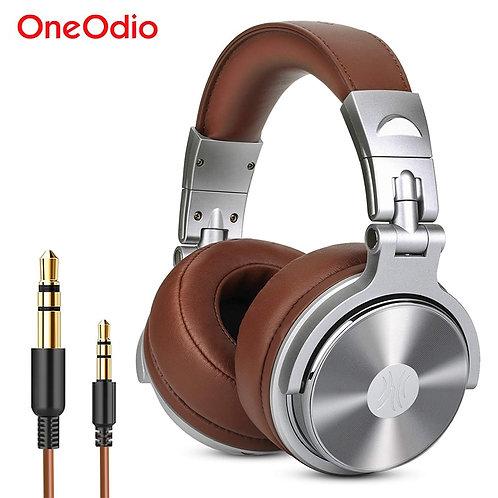 Oneodio Studio Headphones With Microphone Hifi Stereo DJ Headphone