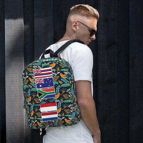 Find Your Coast Adventure Traveler Water Resistant Backpack