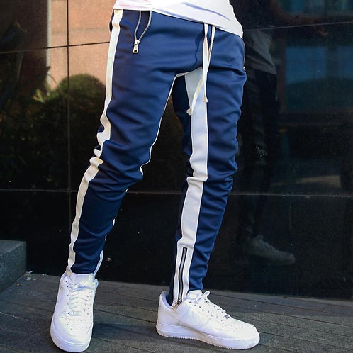 Mens Joggers Casual Pants Fitness Men Sportswear Tracksuit Bottoms