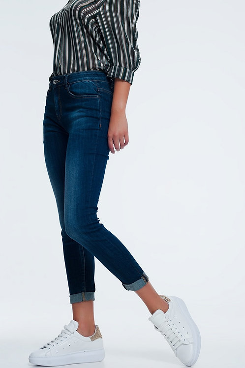 Classic Skinny Jeans in Blue