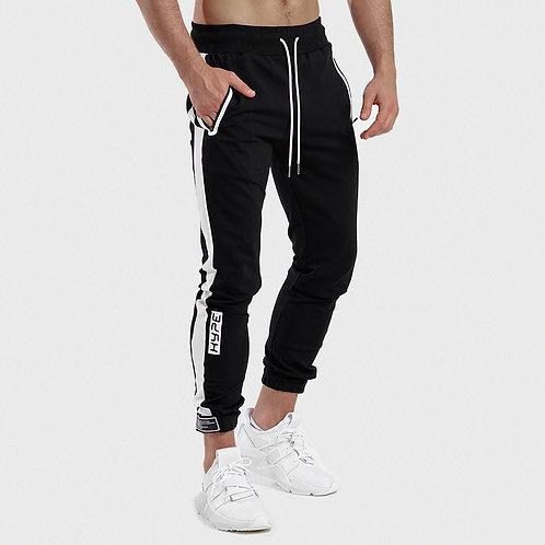 Casual Sporty Pants Joggers Sweatpants Mens Gyms Fitness Workout Sportswear