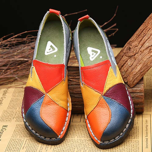 Summer Flat Shoes Women Loafers Slip-On