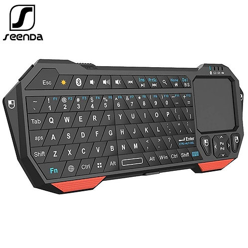SeenDa Mini Bluetooth Keyboard With Touchpad for Smart