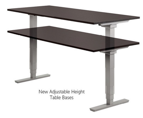 Training Table Adjustable Height Office Innovators - Adjustable height training table