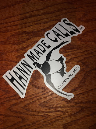 Hann Made Calls Flying Logo sticker