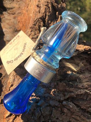 Light Blue/Blue Production Acrylic Duck Call