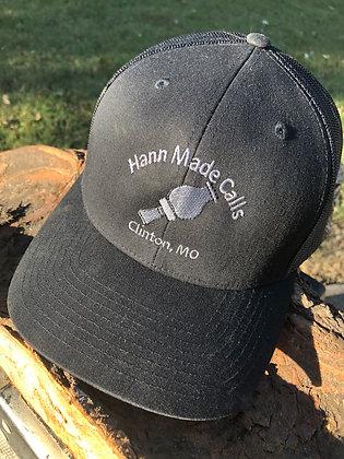 Hann Made Calls Black/Dark Gray Adjustable Hat