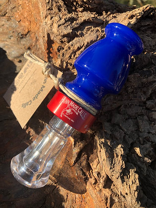 Red, Clear & Blue Production Acrylic Duck Call