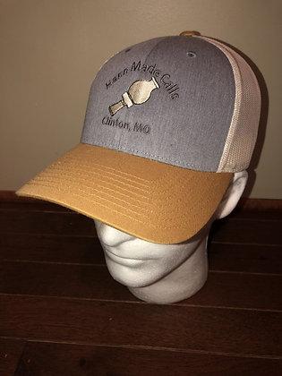 Hann Made Calls Gold/Cream/Denim Adjustable Hat