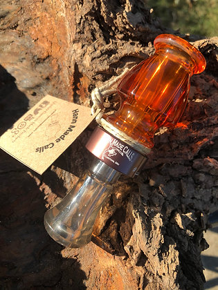 Copper/Smoke Production Acrylic Duck Call