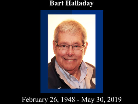 A Tribute to Bart Halladay