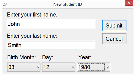 Student without an ID