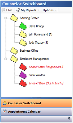 Advisor Switchboard