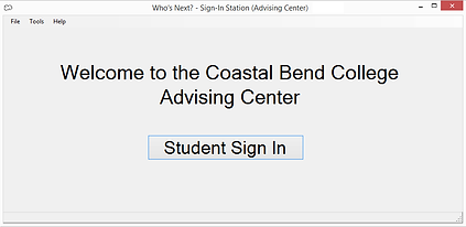 Student Sign-In Station