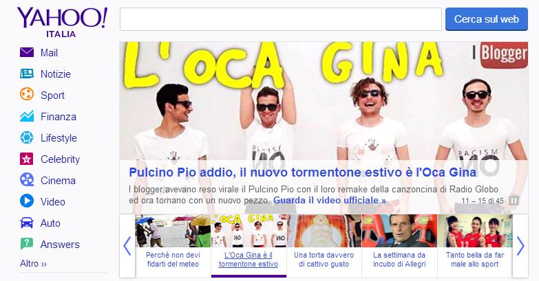 Oca Gina - Fabrizio Pisu Blogger