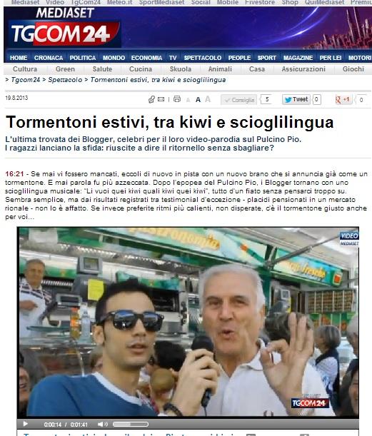 Fabrizio Pisu TGCOM 24