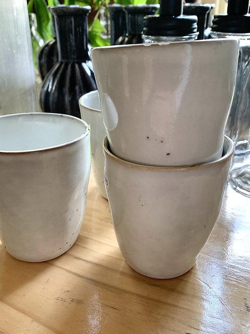 Koffiekop Lavandoux 4 stuks - OUTLET