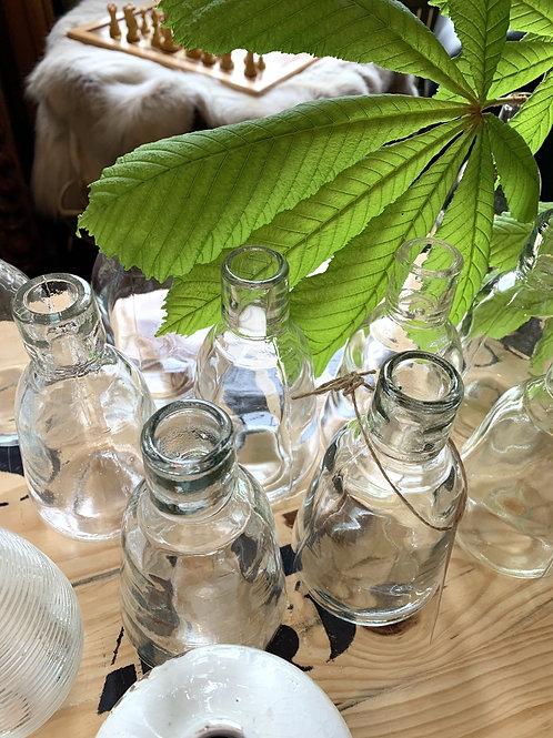 Glazen flesje - OUTLET