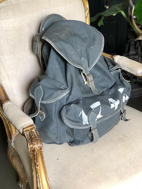 Single Vintage Item -Mountain Backpack Blue Grey