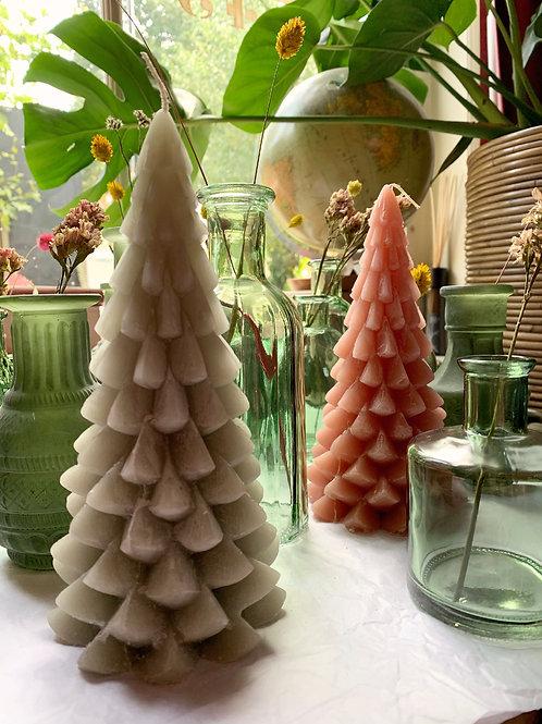 Kerstboom kaars - Eucalyptus