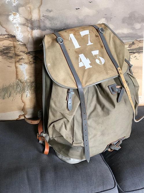 Single Vintage Item -Backpack Aspen Kaki