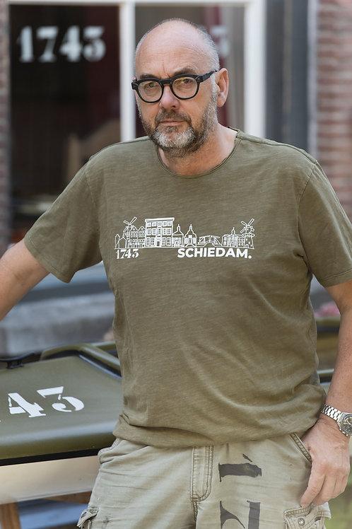 T-shirt SCHIEDAM. - 1743