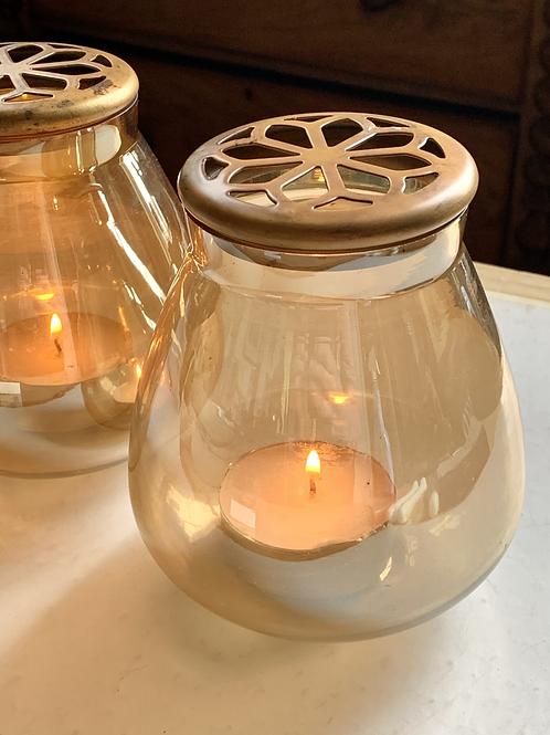 Waxinehouder licht oranje - The Goround Interior