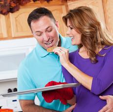 Eric & Susan at home