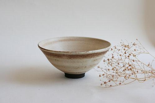 White elegant bowl
