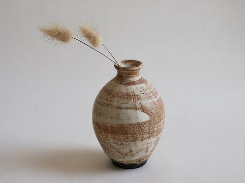 Cream Ceramic Small Vase