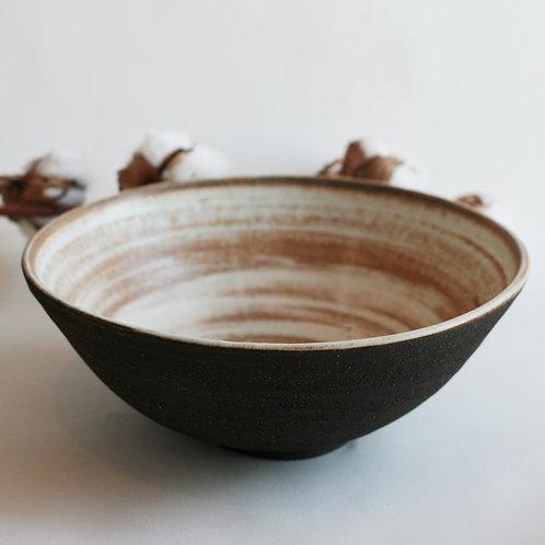 Black Serving Bowl