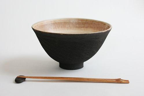 Black Ceramic Ramen bowl