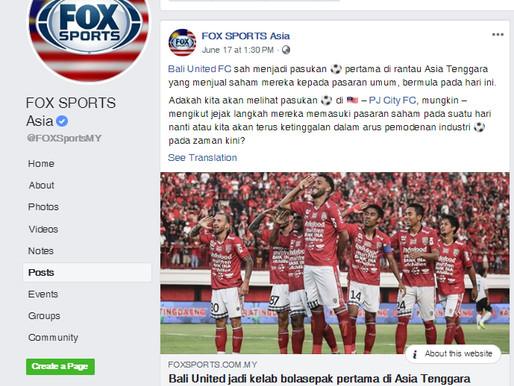 FOX Sports Asia: Going Public?