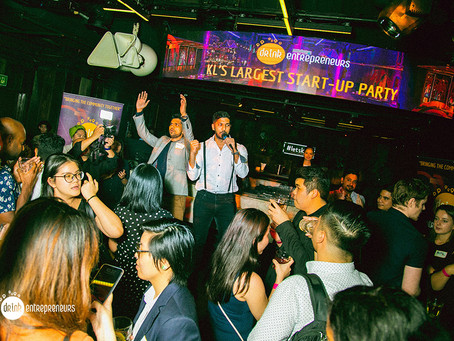 ACQUIRE supports KL's Largest Start-Up Party by Drinkentrepreneurs KL