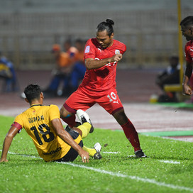 Friendly Match with Negeri Sembilan ends with a draw