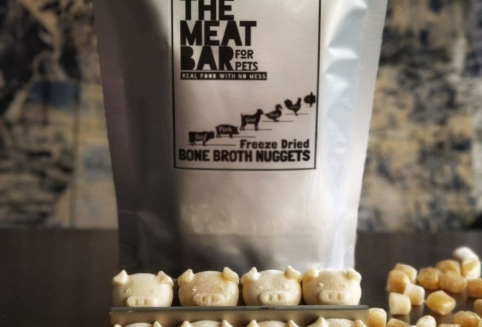 The Meat Bar Freeze-Dried Mini Pork Bone Broth, 12g