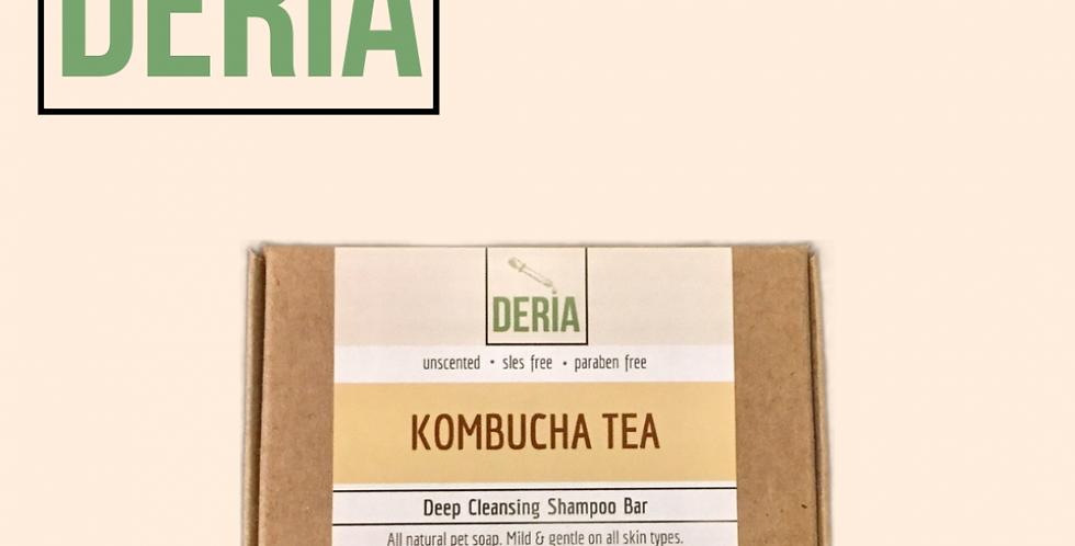 Deria Kombucha Deep Cleansing Shampoo Bar, 85g