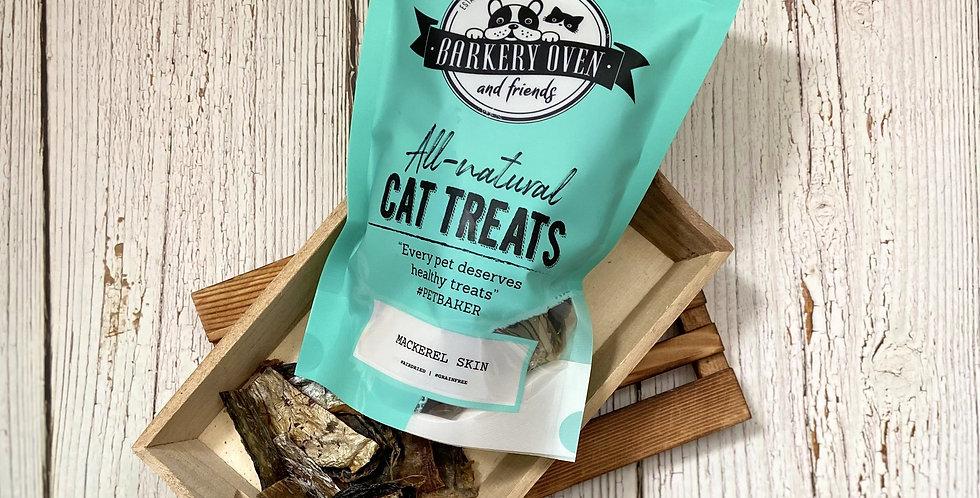 Barkery Oven Mackerel Skin Cat Treats