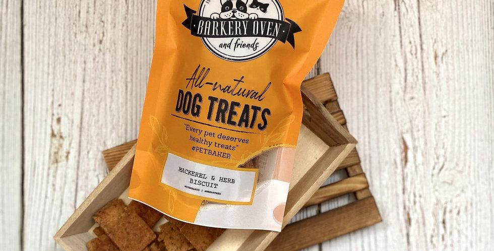 Barkery Oven Wheat Free Mango & Chia Biscuit Dog Treats