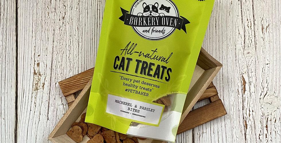 Barkery Oven Mackerel & Parsley Bites Cat Treats