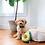 Thumbnail: Waggy Woffie NomNomz Plush Toy, Avocado