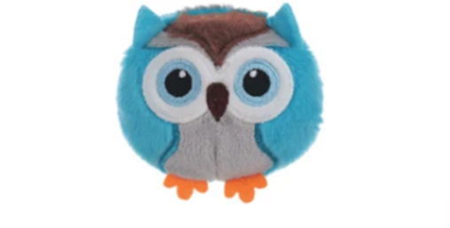 Waggy Woffie Owl Cat Toy