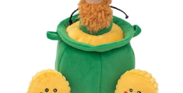 Zippy Burrow Dog Toy - Pot of Gold
