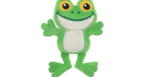 Waggy Woffie Frog Cat Toy