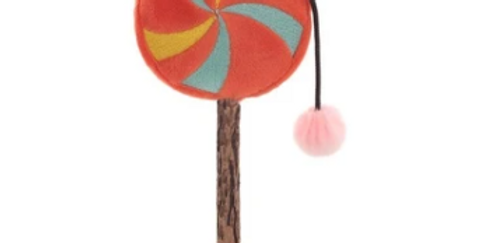 Waggy Woffie Lollipop Cat Toy