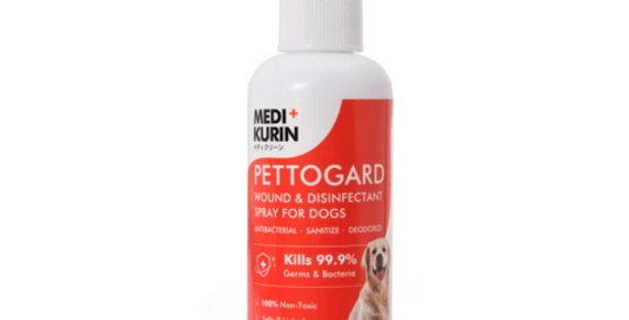 Wound & Disinfectant Spray for Dogs, 100ml