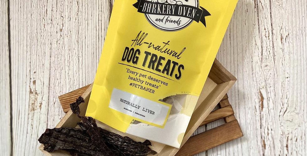 Barkery Oven Naturally Porky Liver Dog Treats