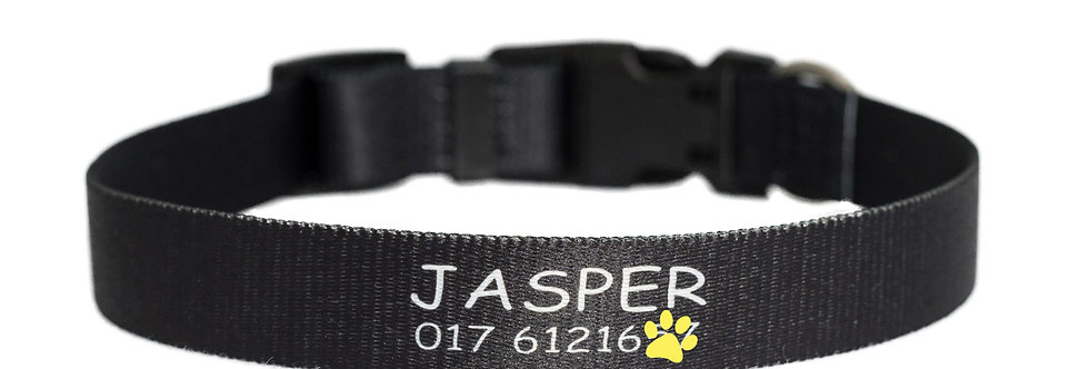 Pawsonalised by Jacq's Bespoke Collar, Classic, Large/Extra Large